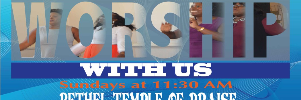 Come Worship With Us: Sundays @ 11:30 AM